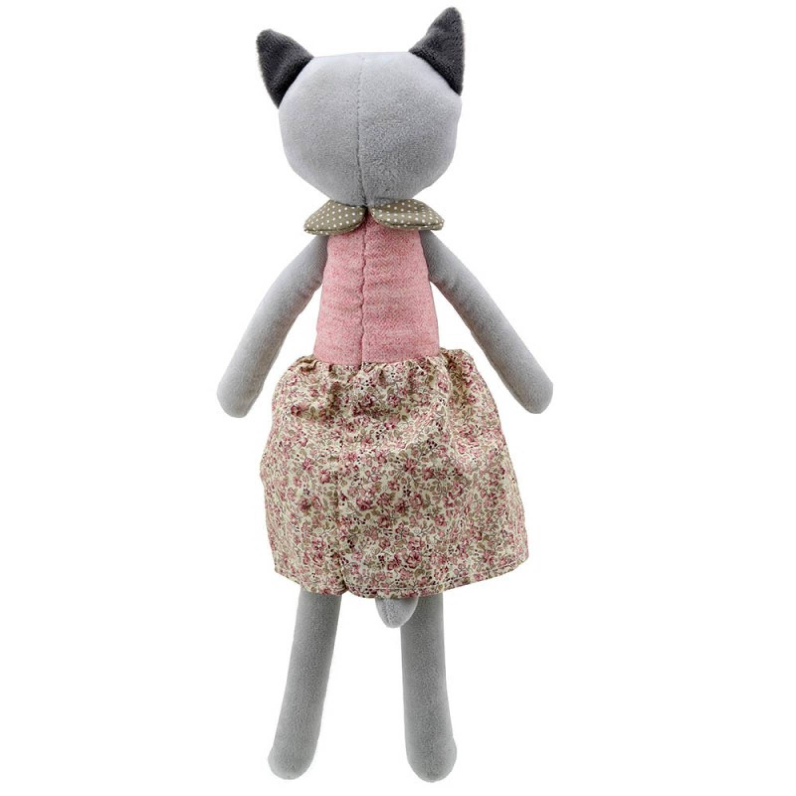 Girl Cat - Wilberry Friends Soft Toy 0+ thumbnails