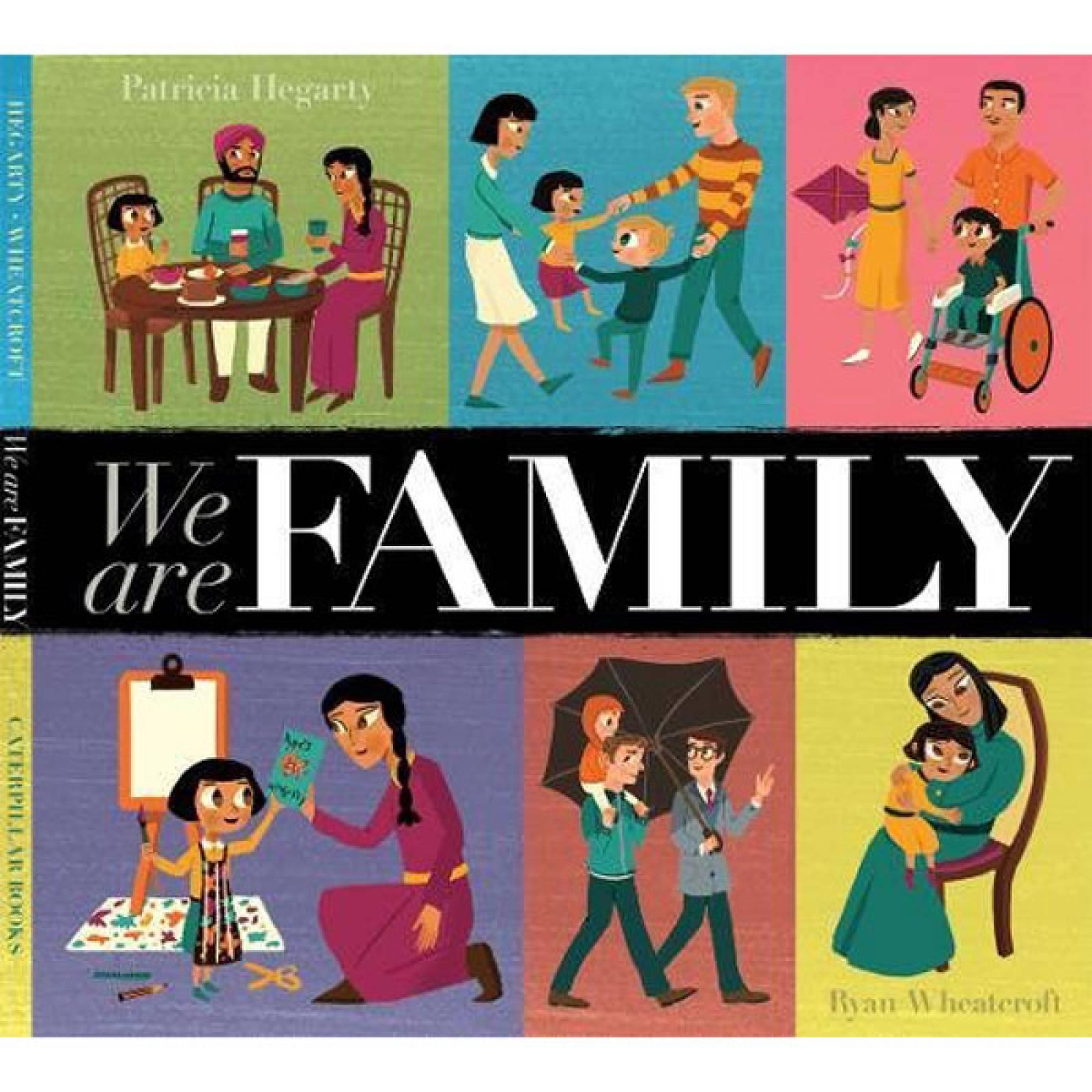 We Are Family Hardback - Book