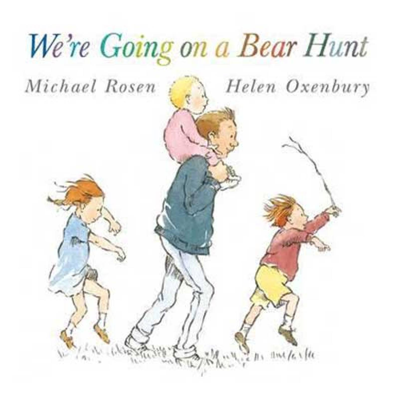 We're Going On A Bear Hunt Paperback Book
