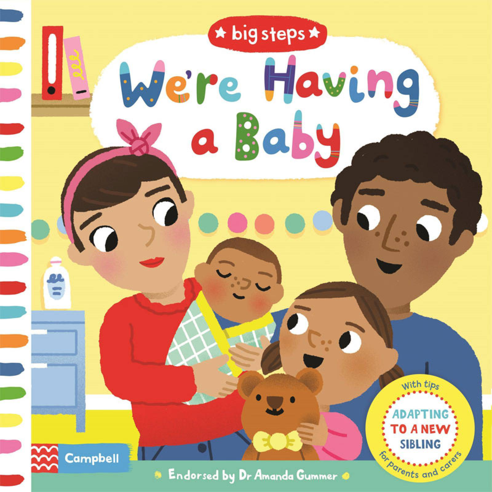 We're Having A Baby - Board Book