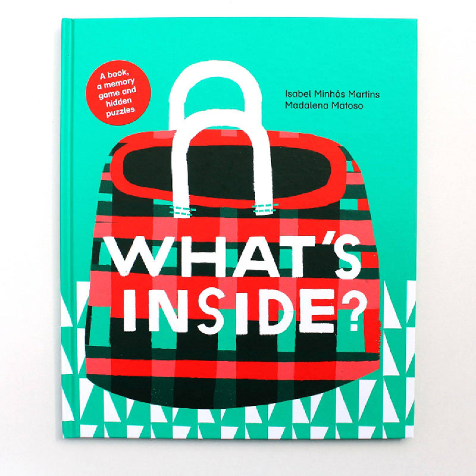 What's Inside? Hardback Book By Isabel Minhos Martins