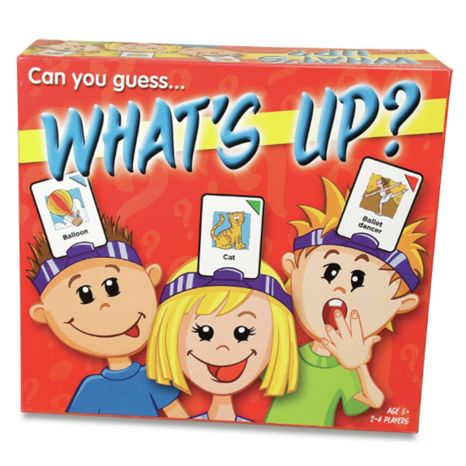 What's Up? Guessing Game For Kids 5yr+