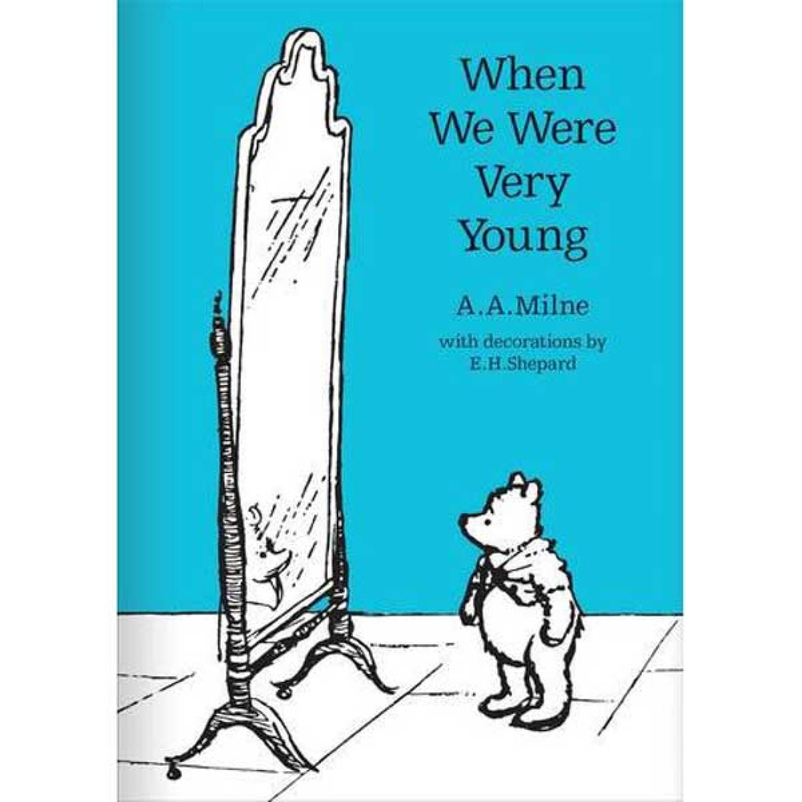 When We Were Very Young By A.A.Milne Hardback Book