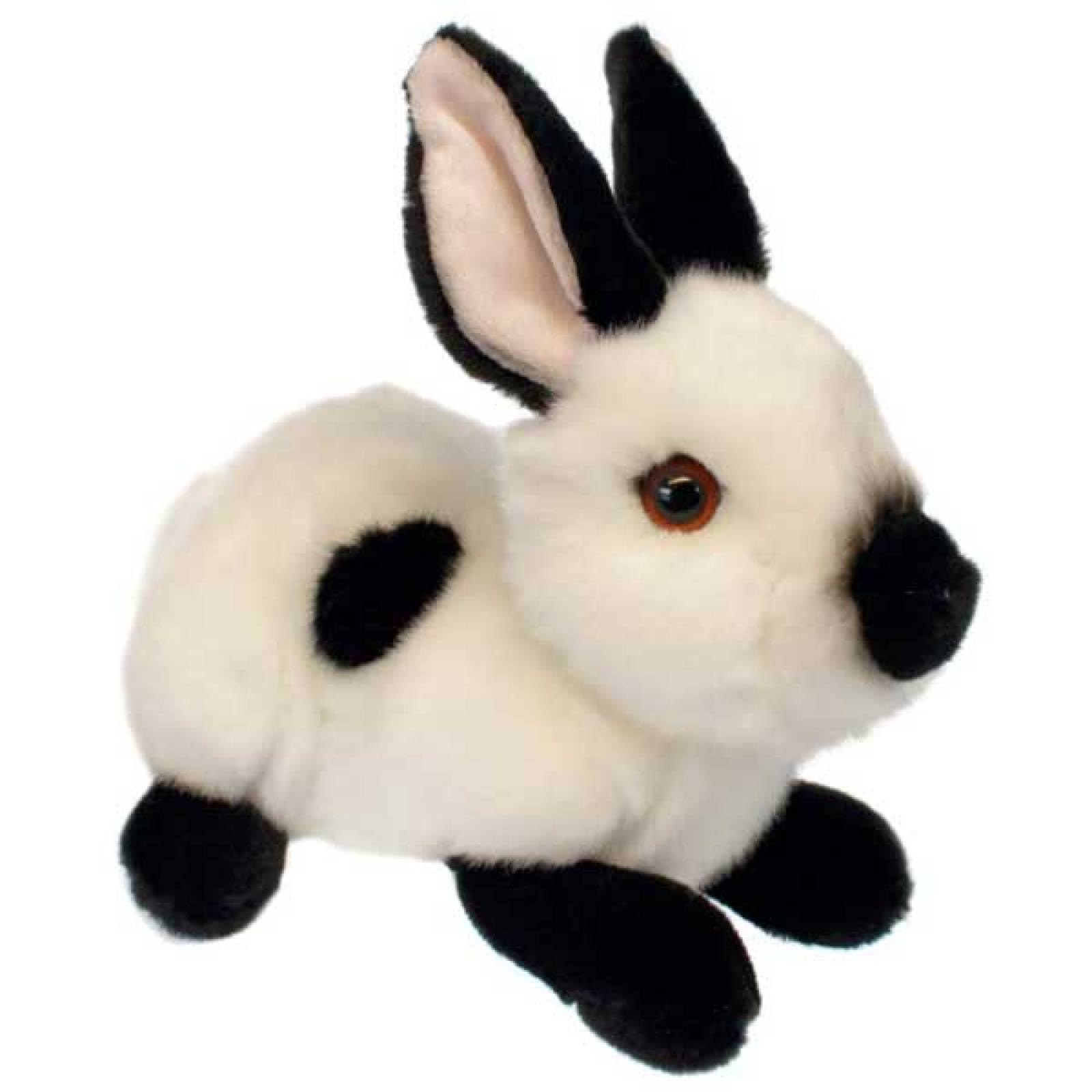 White And Black Wilberry Bunny Soft Toy