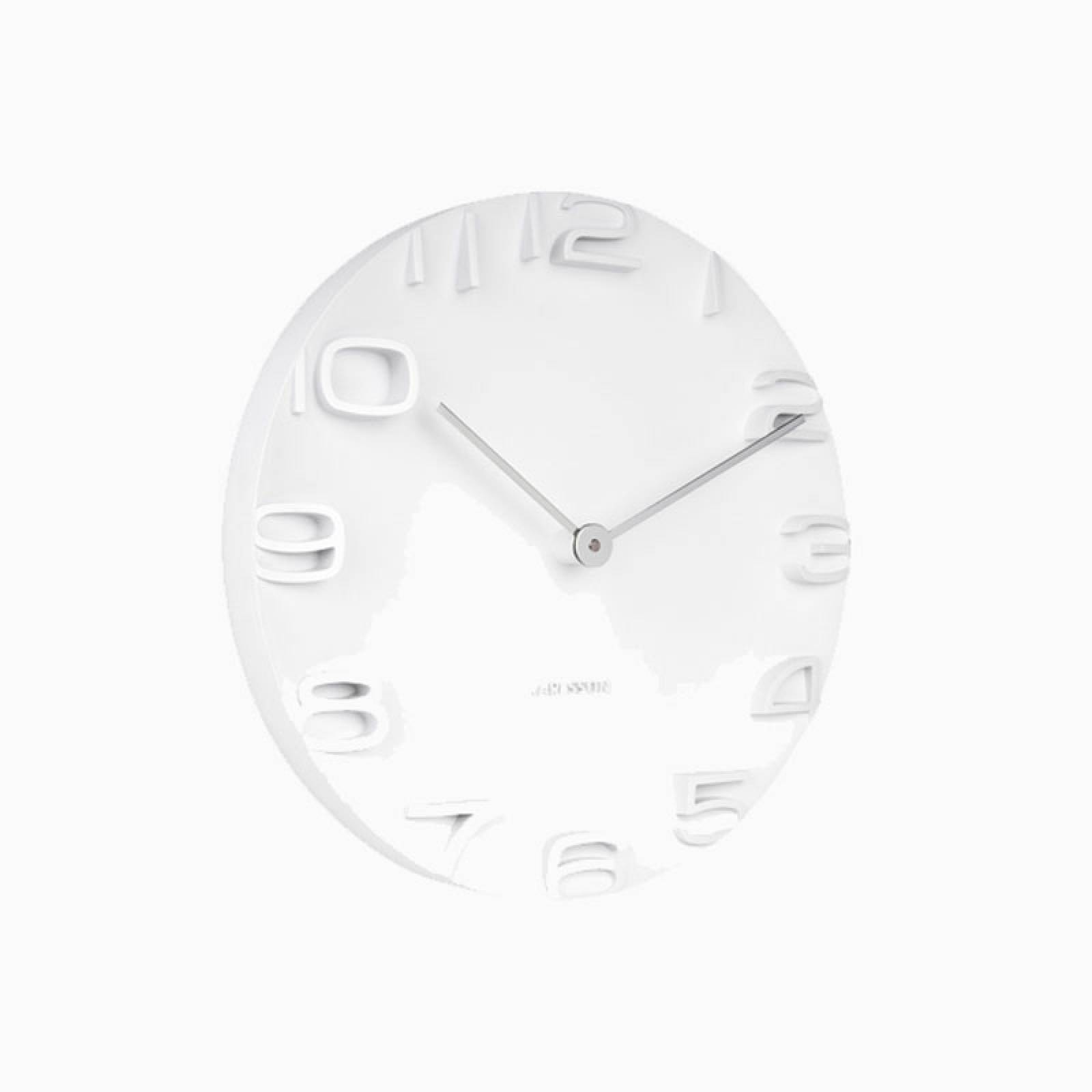 On The Edge Wall Clock In White thumbnails