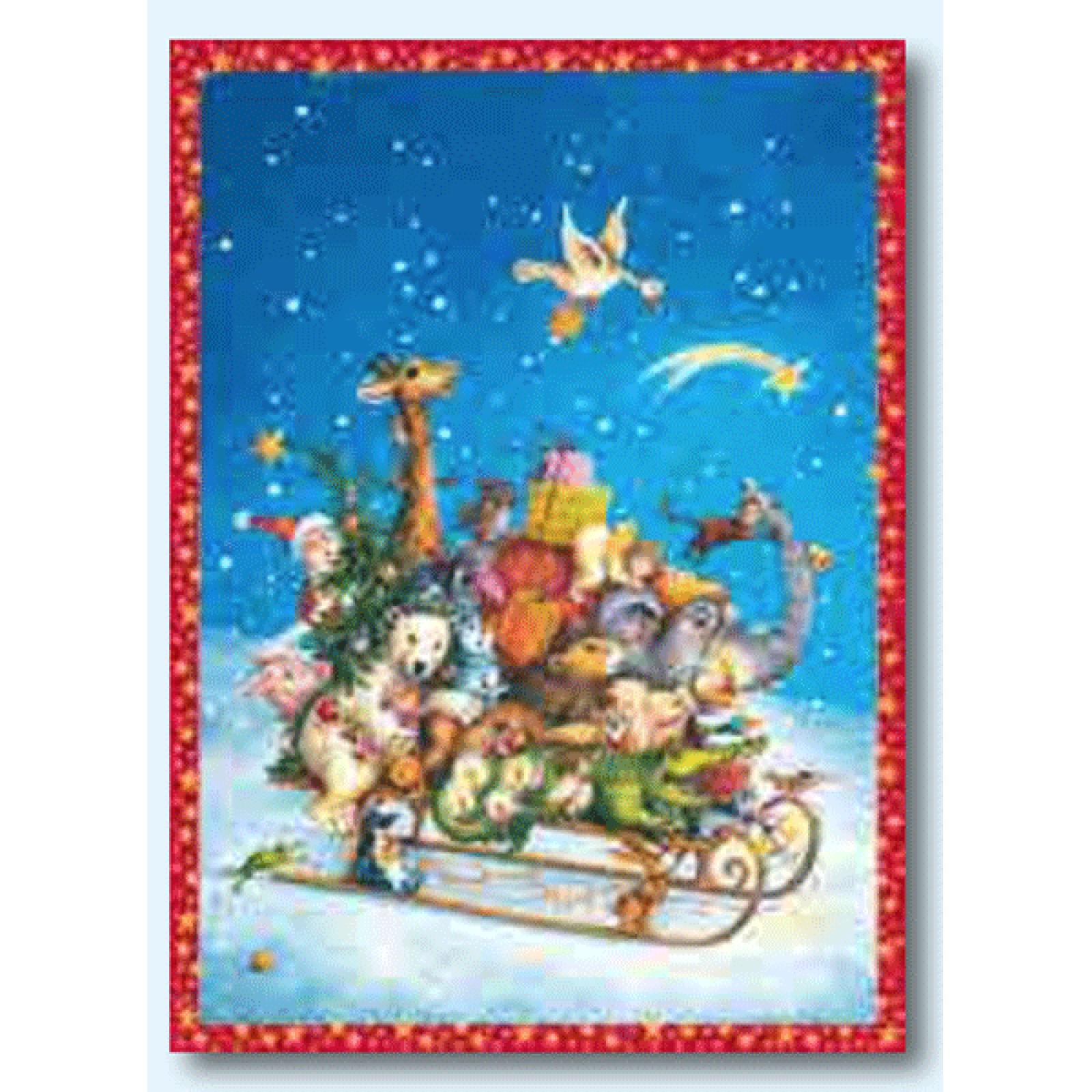 Whizzing Through The Snow Tizaro Advent Calendar