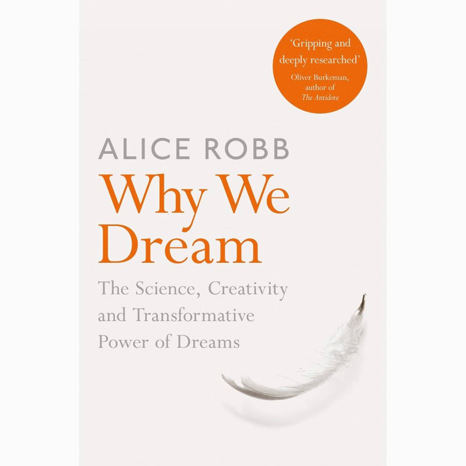 Why We Dream - Paperback Book