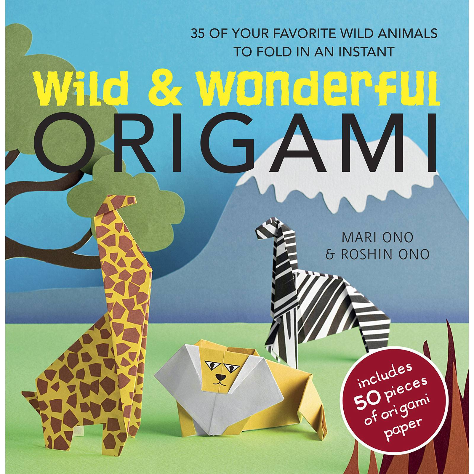 Wild And Wonderful Origami Book By Ono Mari