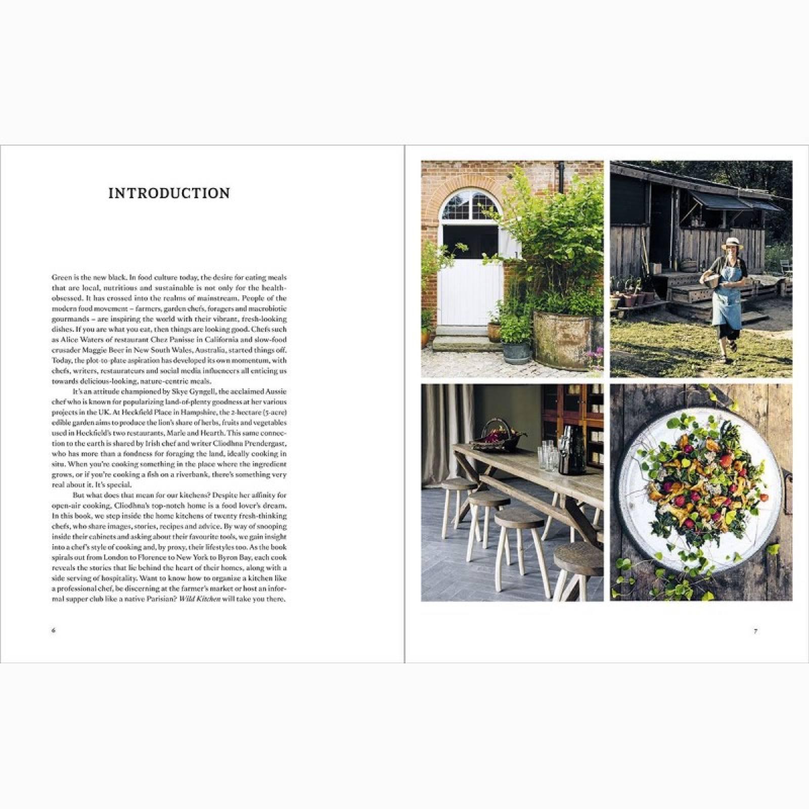 Wild Kitchen: Nature Loving Chefs At Home - Hardback Book thumbnails