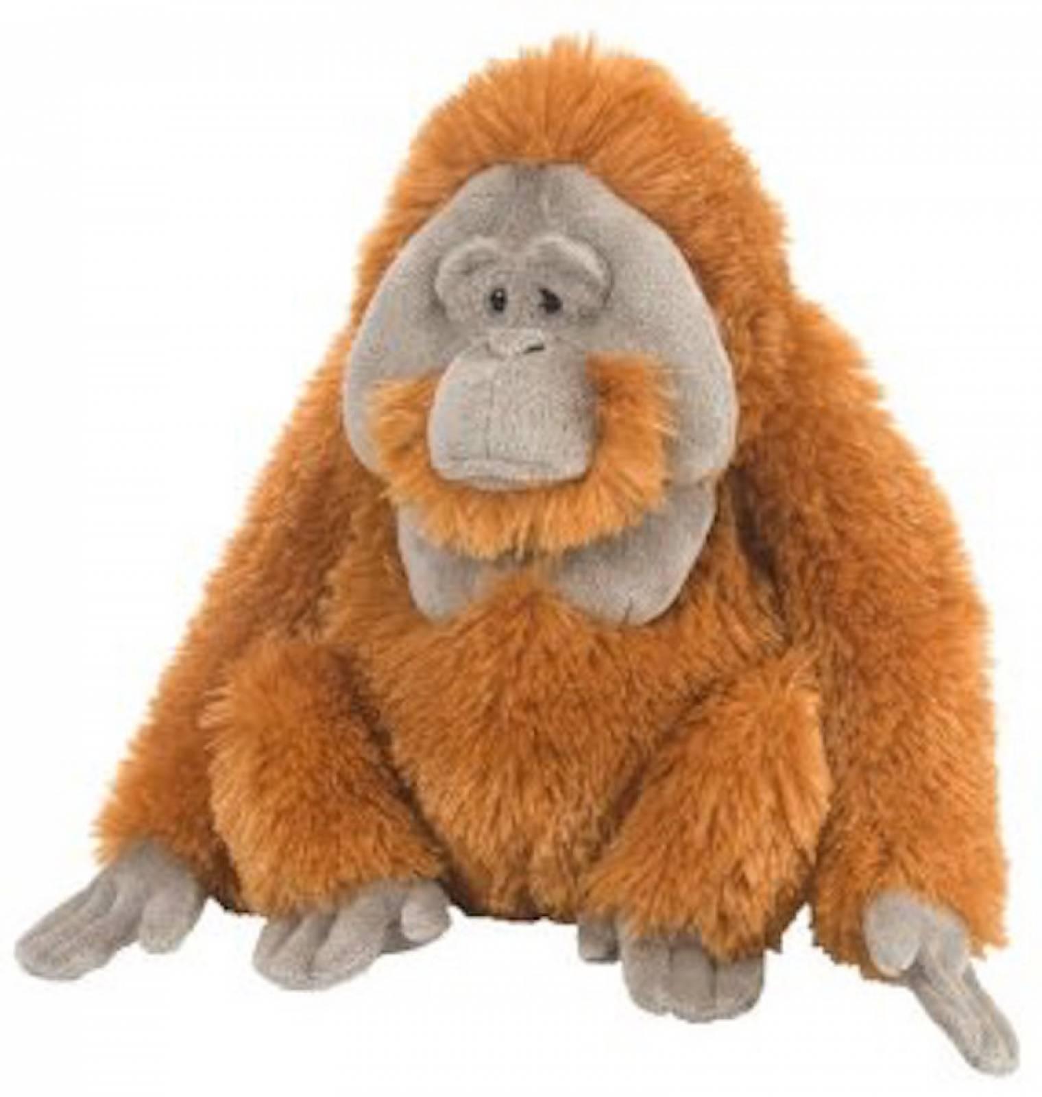 ORANGUTAN 30cm Cuddlekin Animal Soft Toy