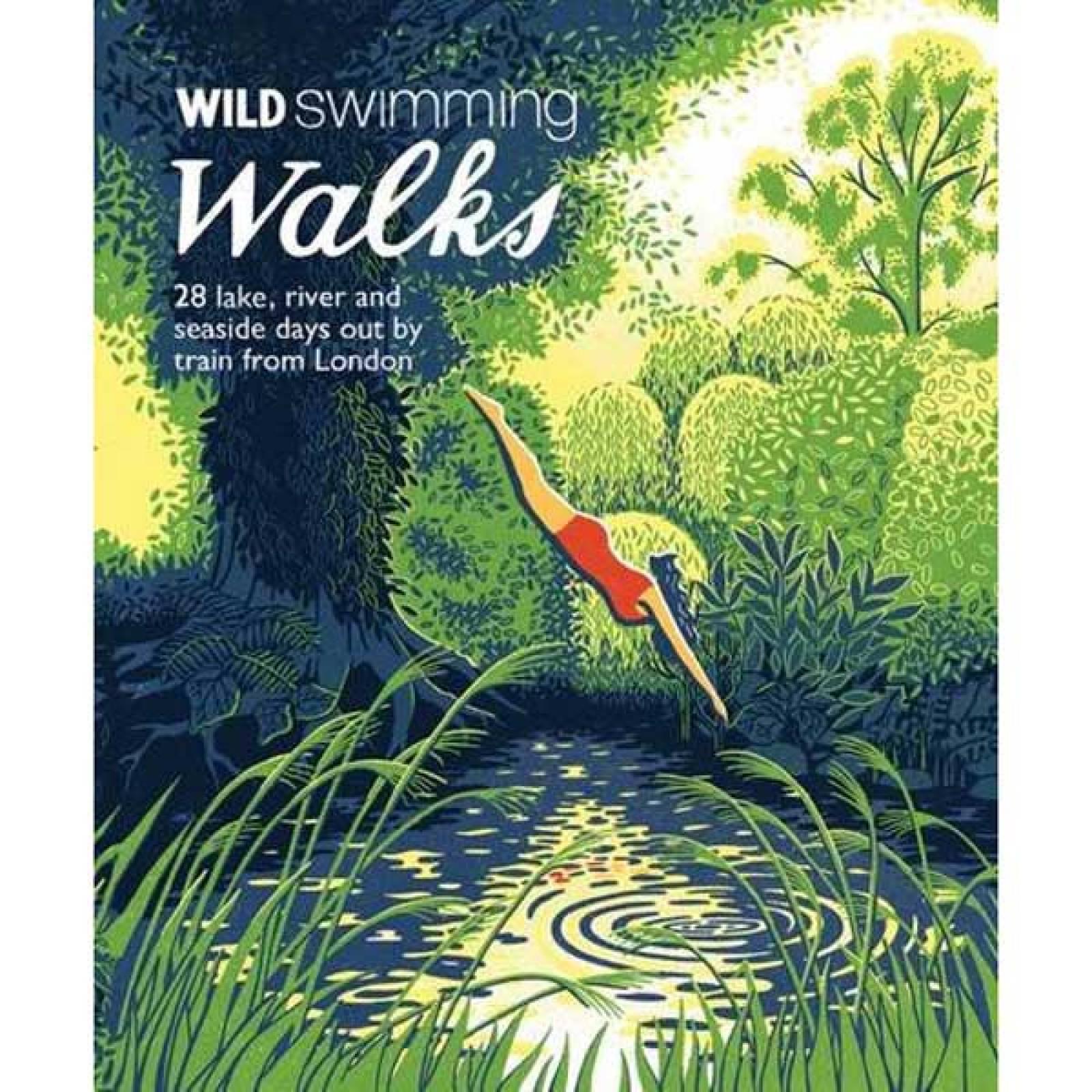 Wild Swimming Walks - Paperback Book