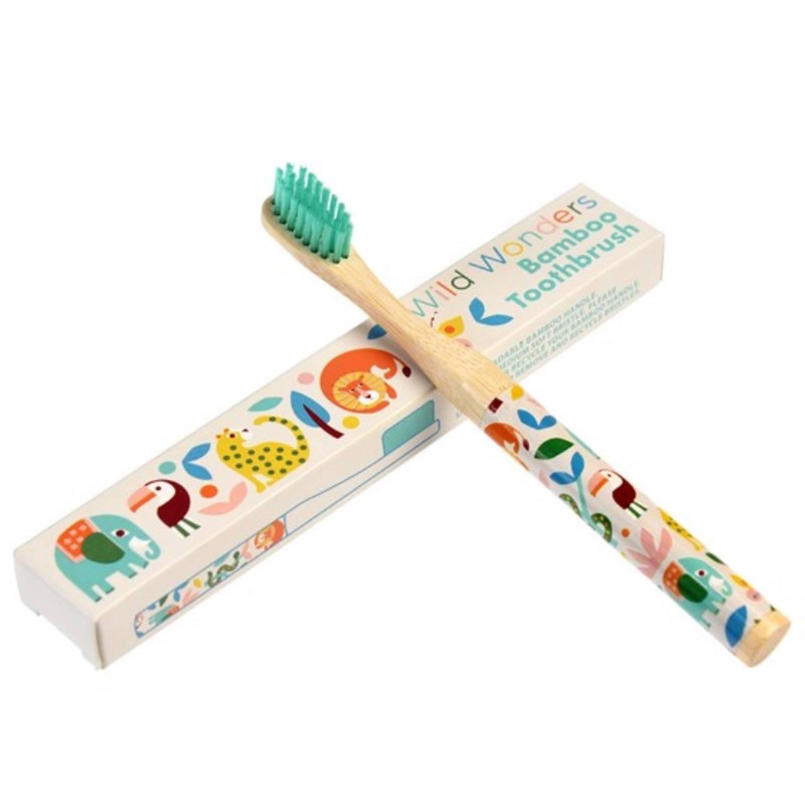 Wild Wonders Bamboo Toothbrush