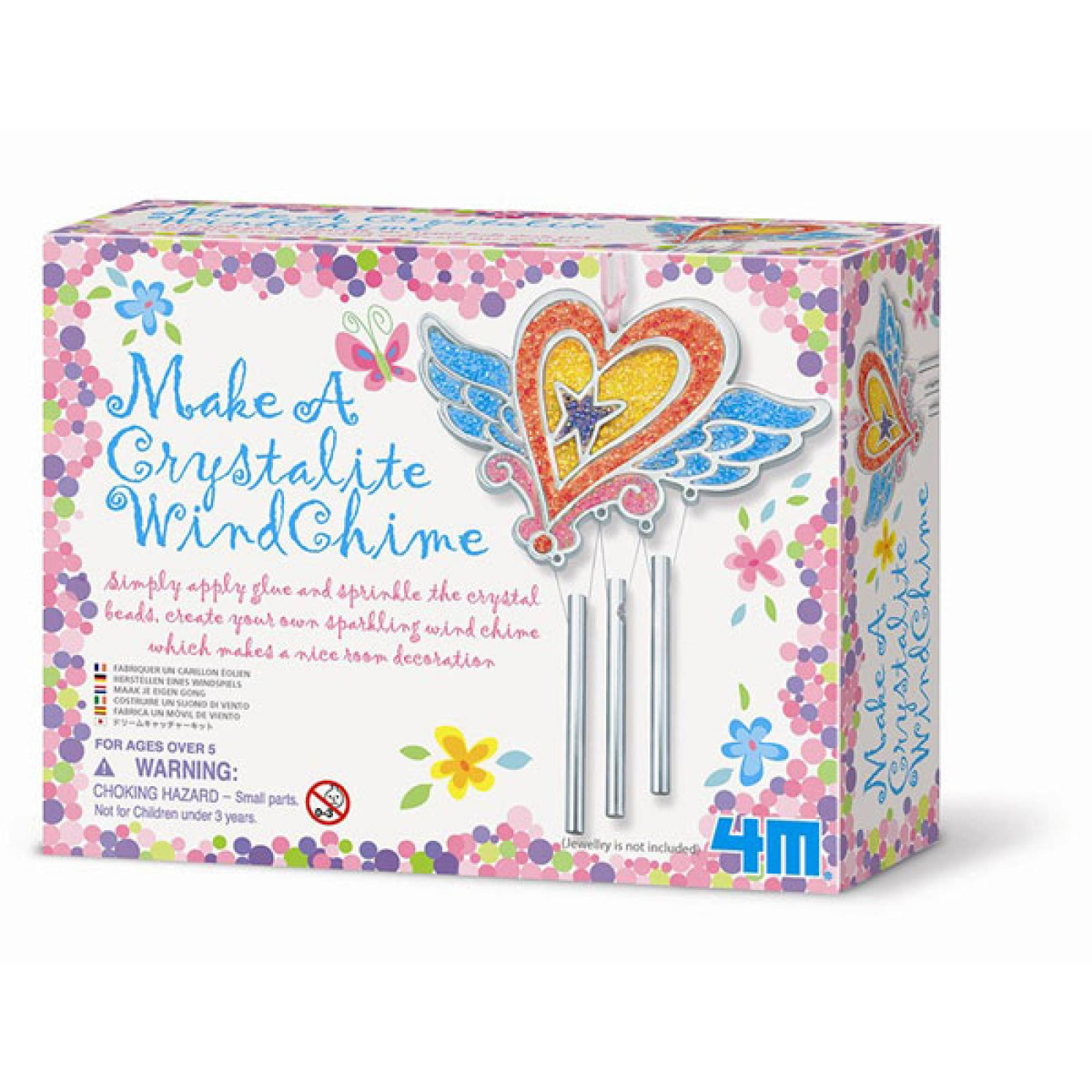 Make A Crystalite Windchime Kit 5+