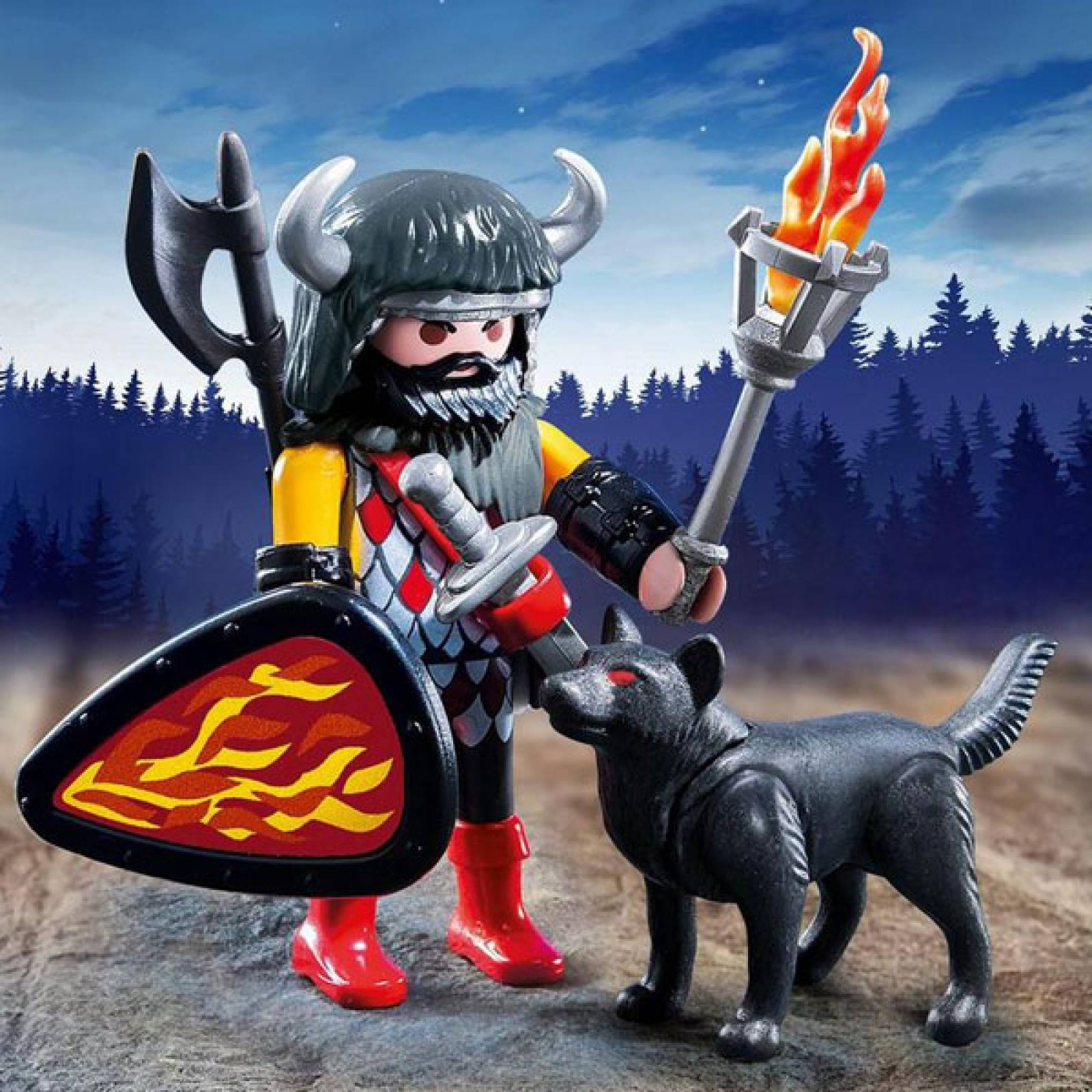 Wolf Warrior Special Plus Playmobil 5385