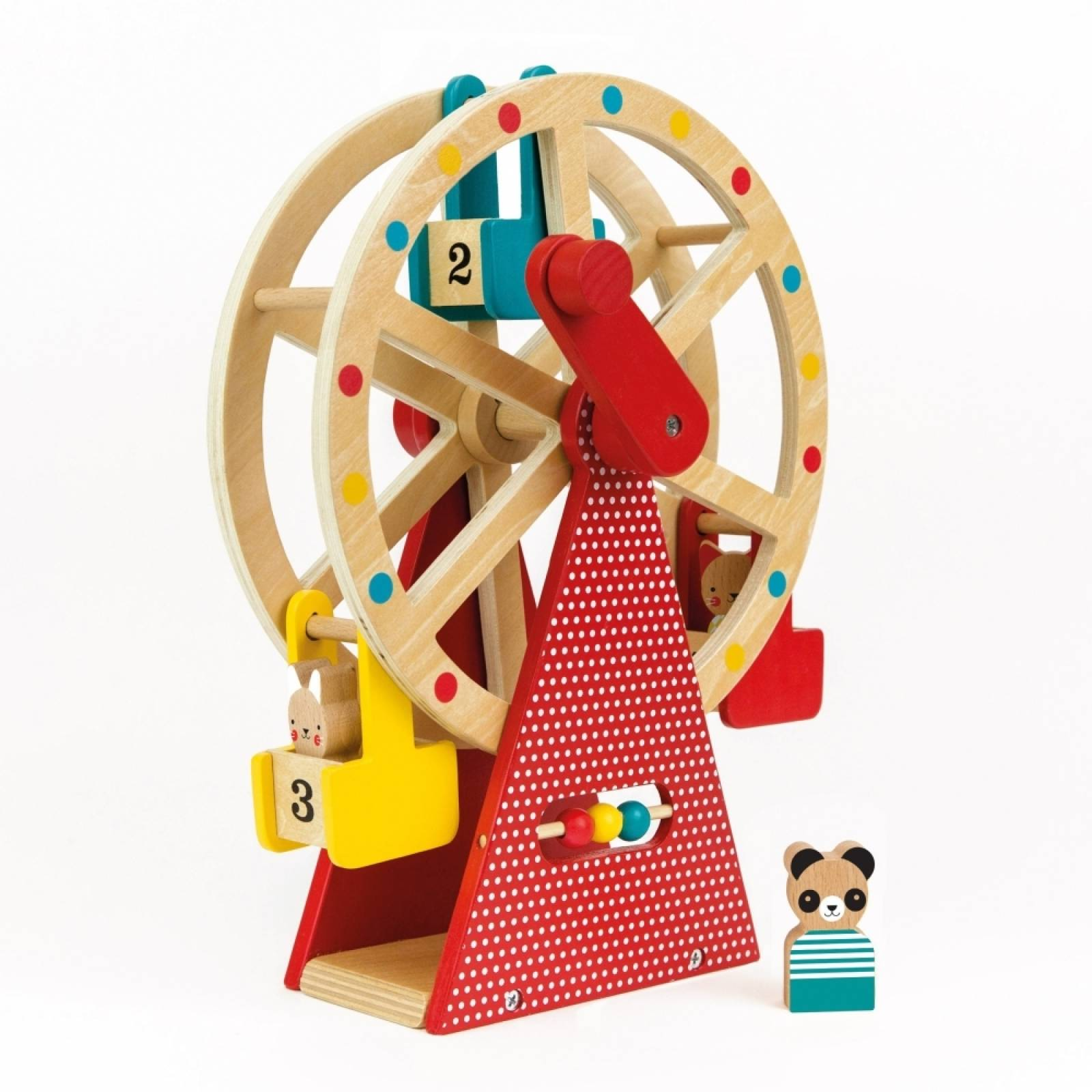 Wooden Carnival Play Set Ferris Wheel Toy 3+ thumbnails