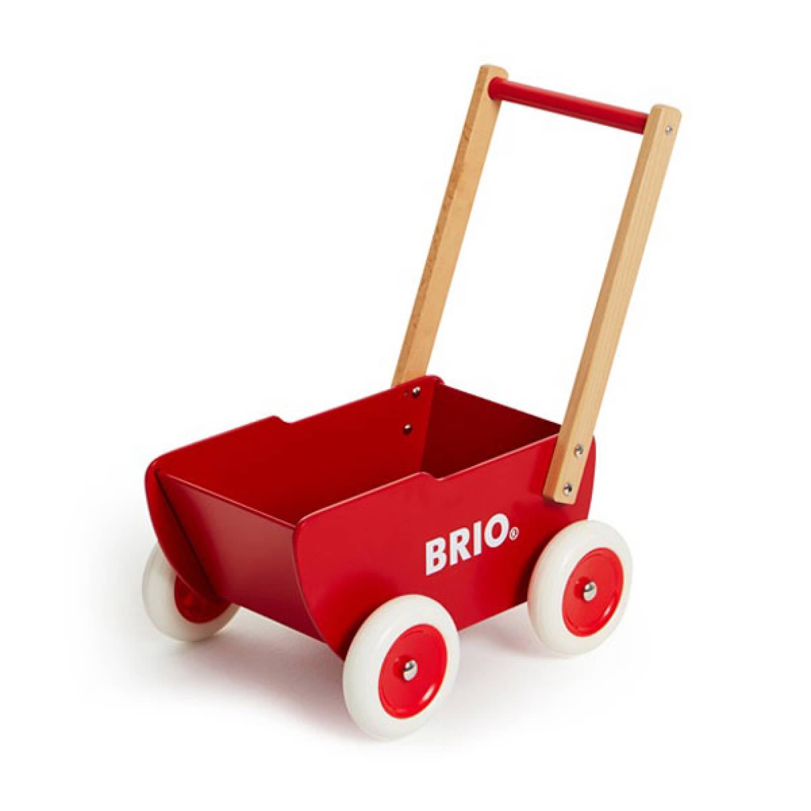 BRIO® Wooden Dolls Pram 31370 18m+