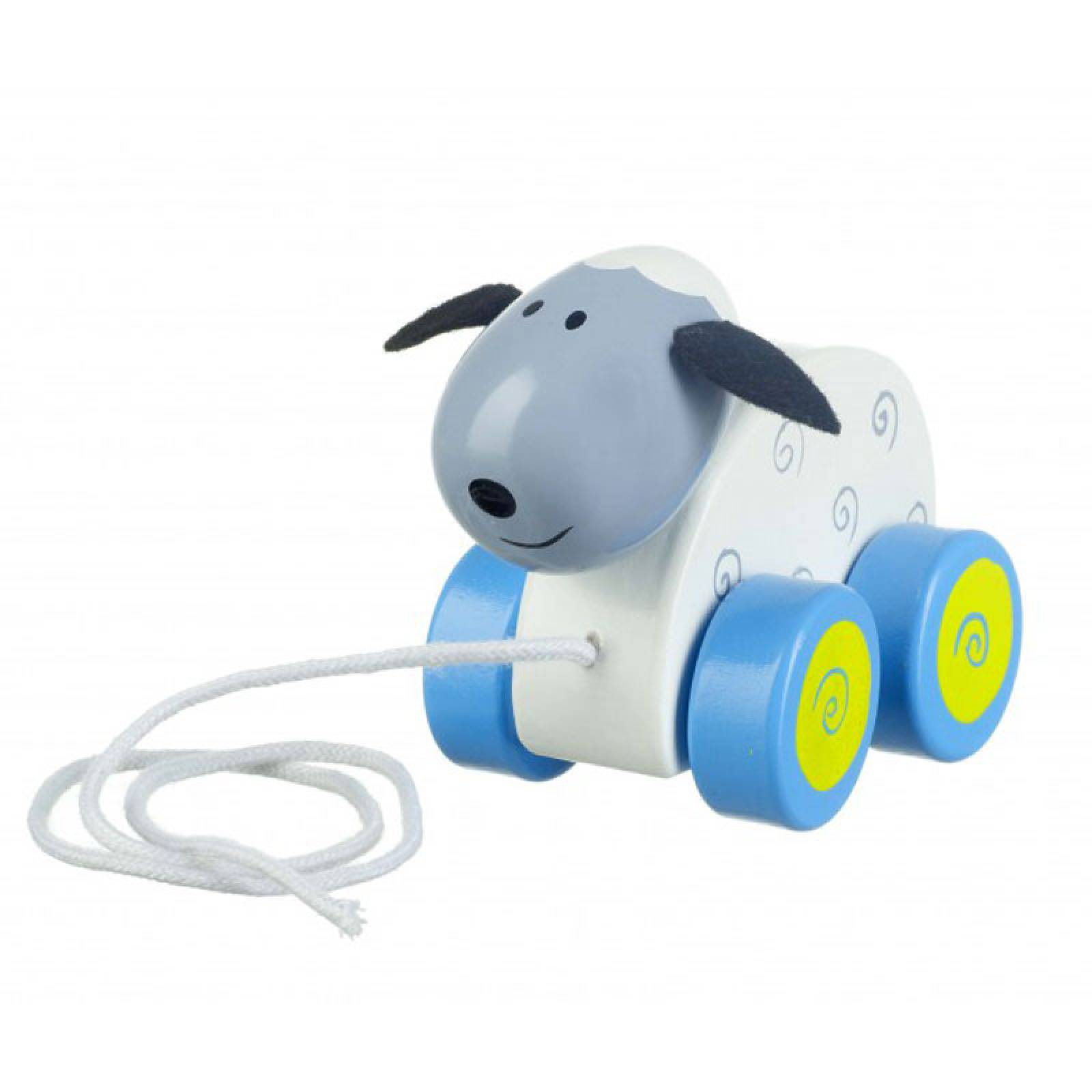Wooden Sheep Pull Along Toy By Orange Tree 1+