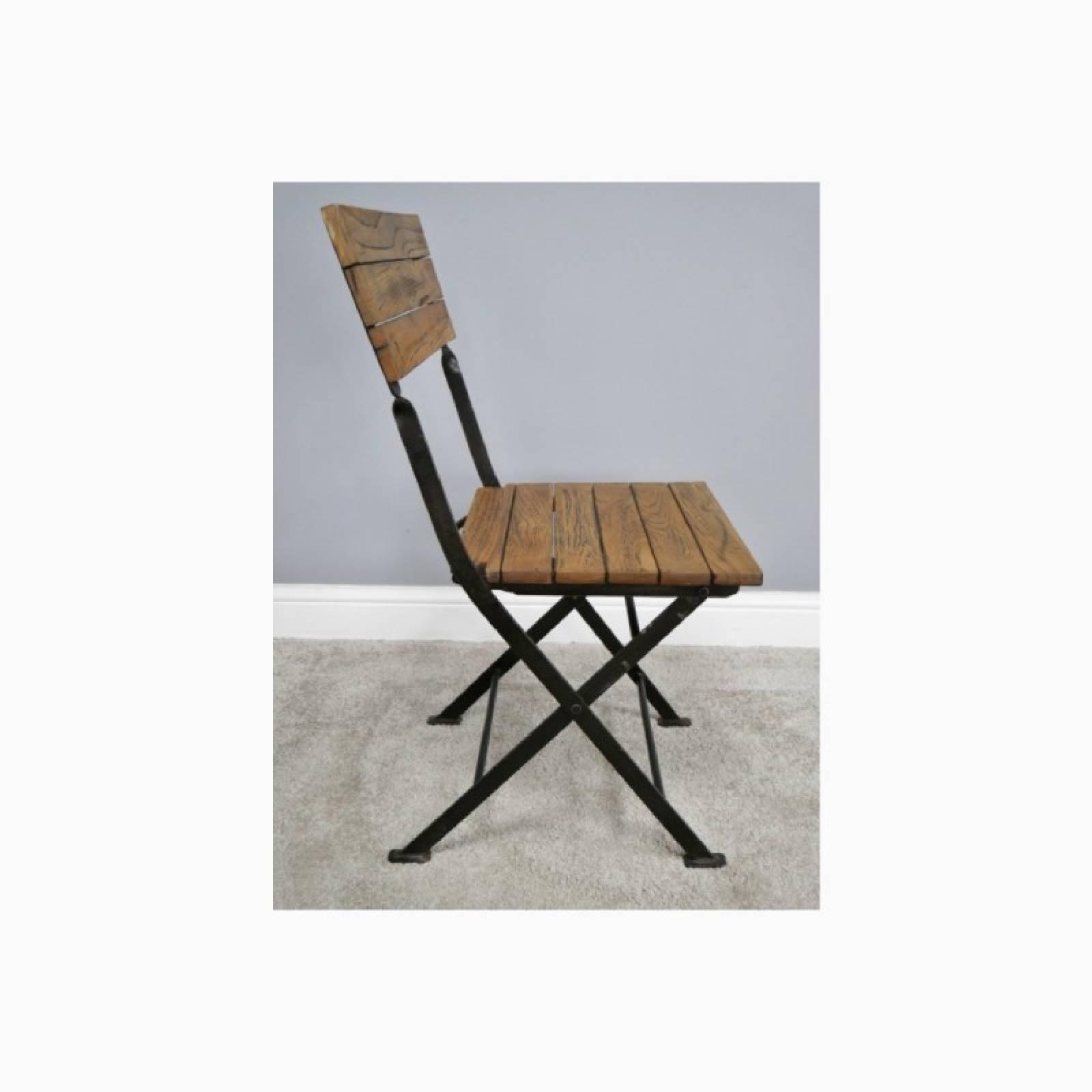 Wooden Slatted Garden Chair thumbnails