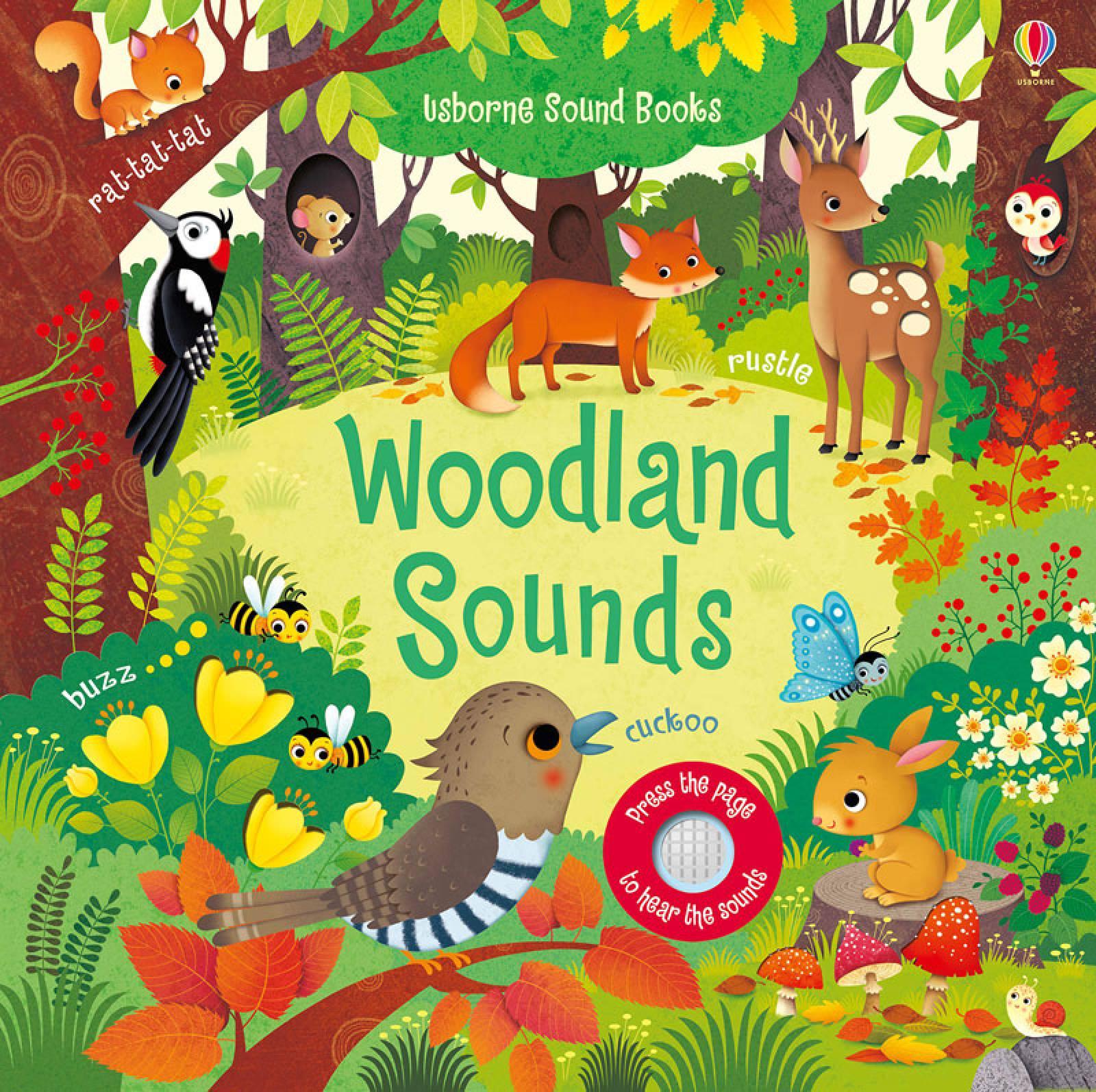 Woodland Sounds Noisy Book - Hardback Book