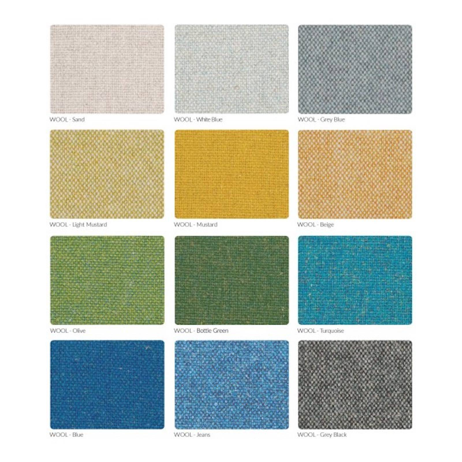 366 Plus Armchair - Wool Fabrics thumbnails