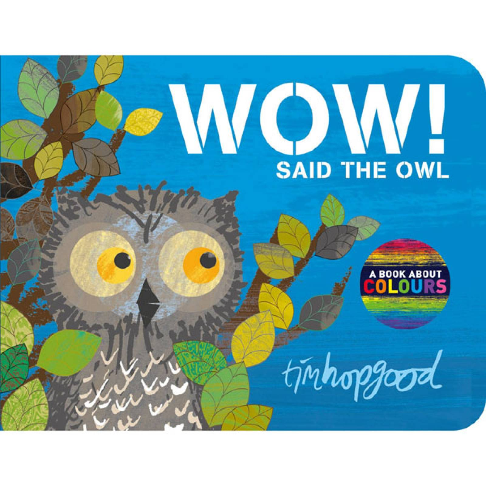 Wow! Said The Owl - Board Book