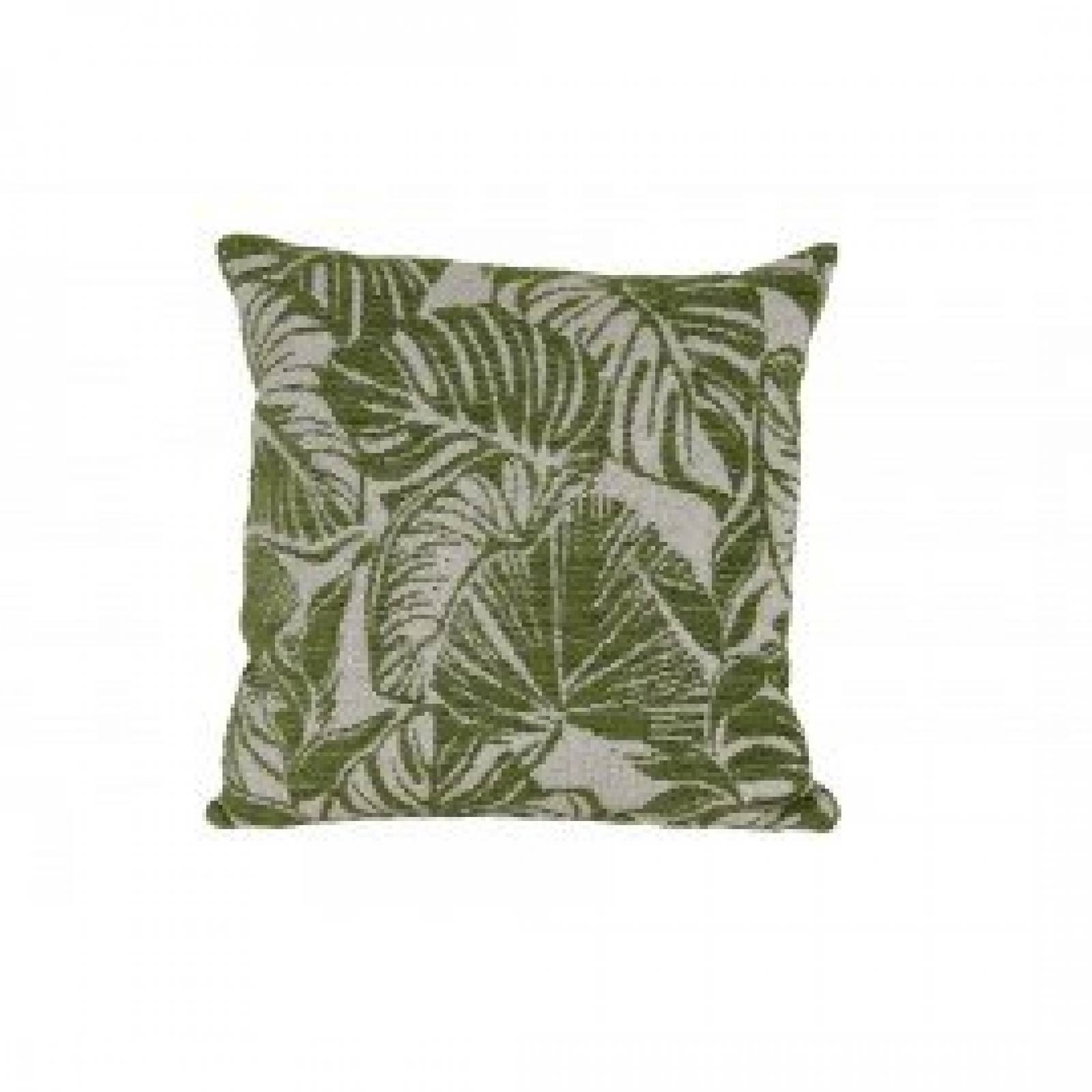 Green Leaf Cushion 45x45cm