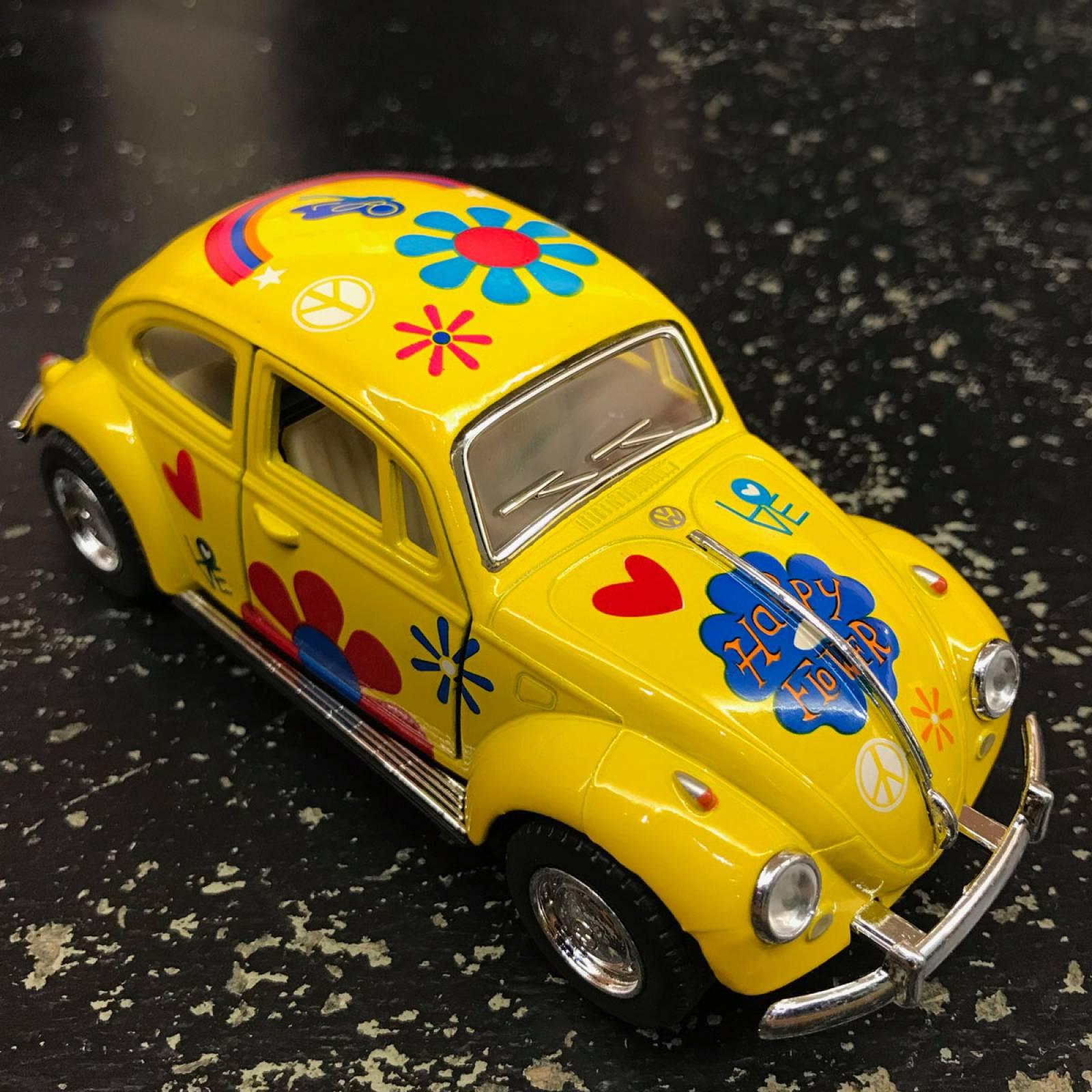 Diecast VW Beetle Model Car Various Colours