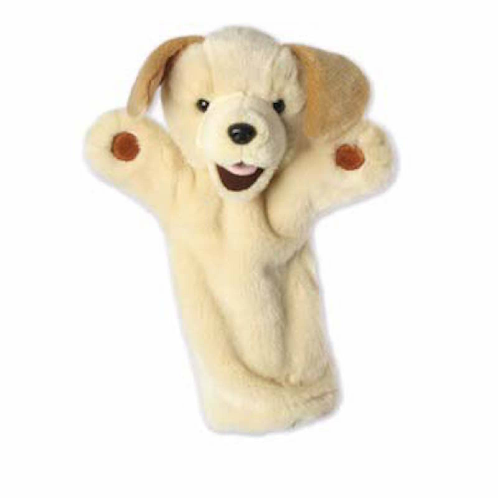 YELLOW LABRADOR DOG Long Sleeved Glove Puppet