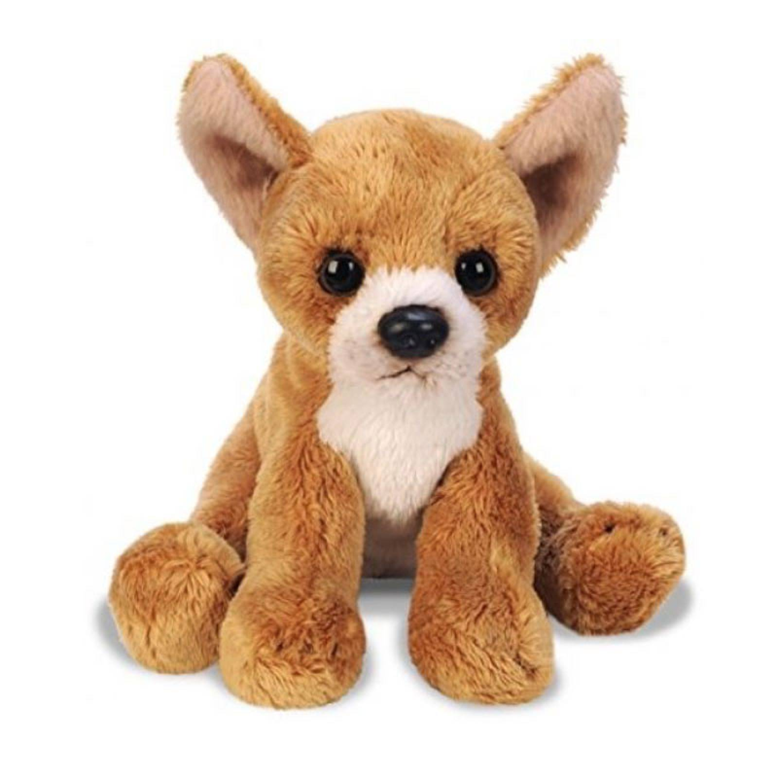 Small Sitting Chihuahua Dog Soft Toy 12.5cm