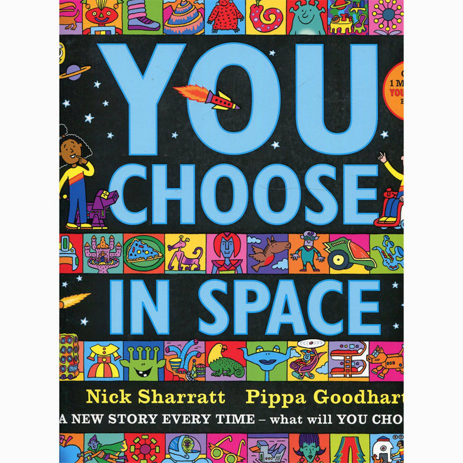 You Choose in Space - Paperback Book