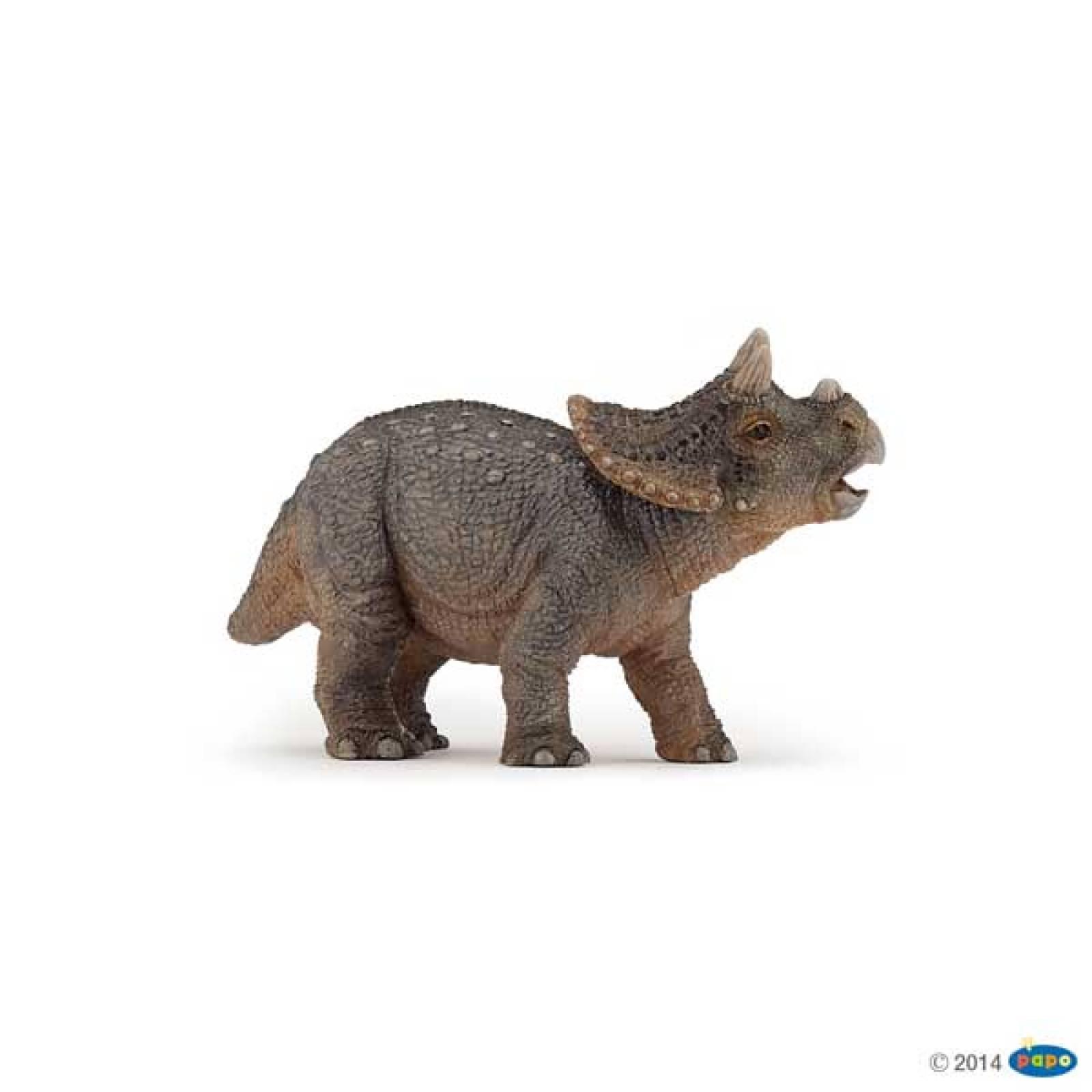 BABY TRICERATOPS Papo Dinosaur