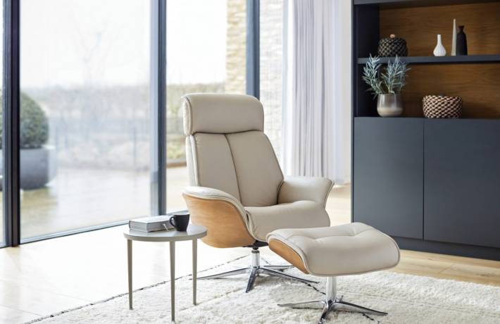 G Plan The Lund Range Of Reclining Armchairs & Footstools