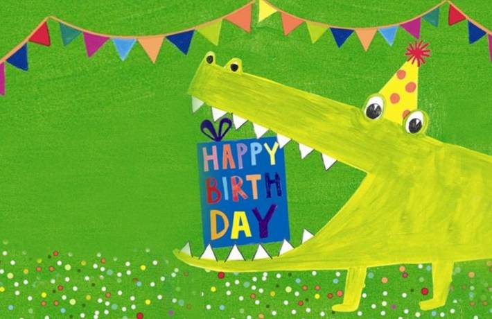 Children's Happy Birthday Cards