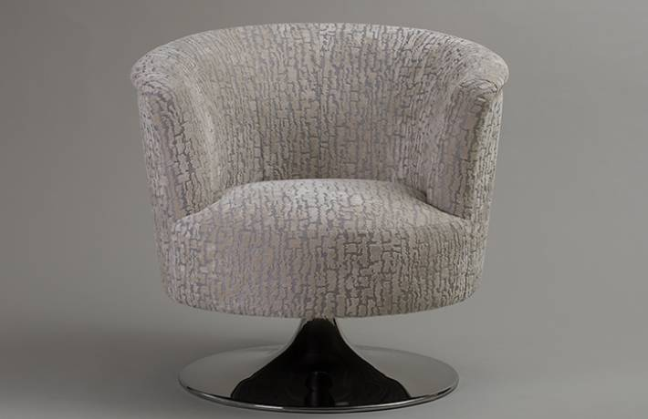 Lulu Occasional Swivel Chair