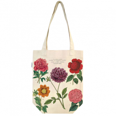 Botanica Flowers Cotton Tote Bag