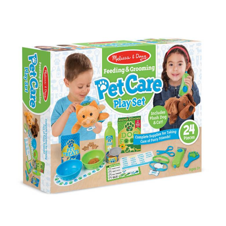 Z DISCON Pet Care Play Set 3+ By Melissa & Doug