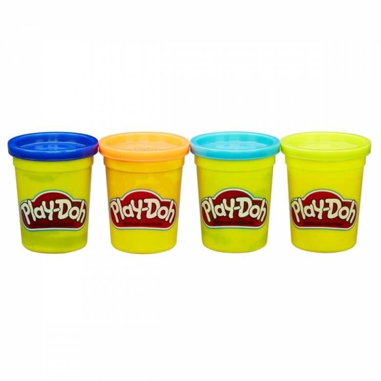 4 Play Doh / Playdough Tubs Set of 4 Large tubs