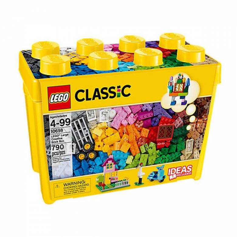 LEGO® Classic Large Creative Brick Box 4+ 10698