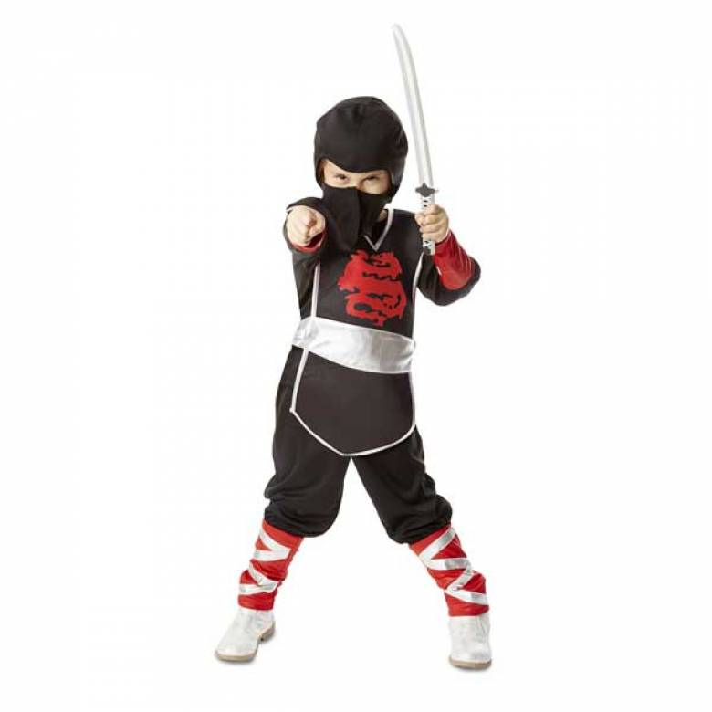 Fancy Dress Role Play Costume Set - Ninja