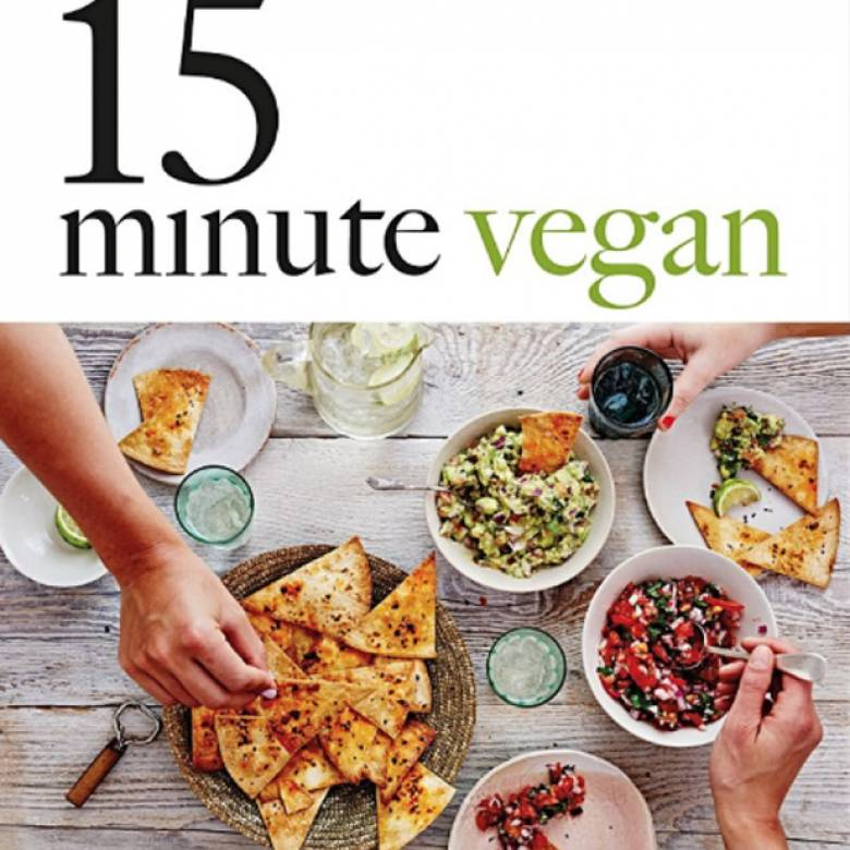 15 Minute Vegan Hardback Book