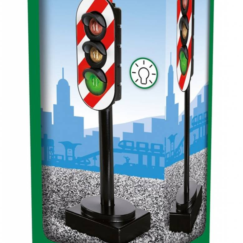 Signal Light BRIO® Wooden Railway Age 3+