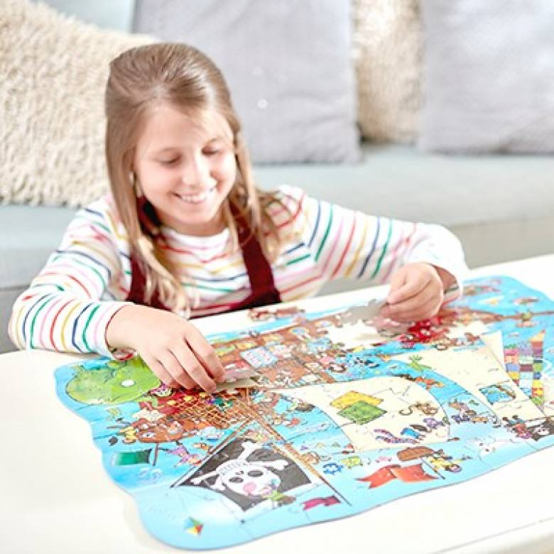 Pirate Ship Puzzle Jigsaw By Orchard Toys