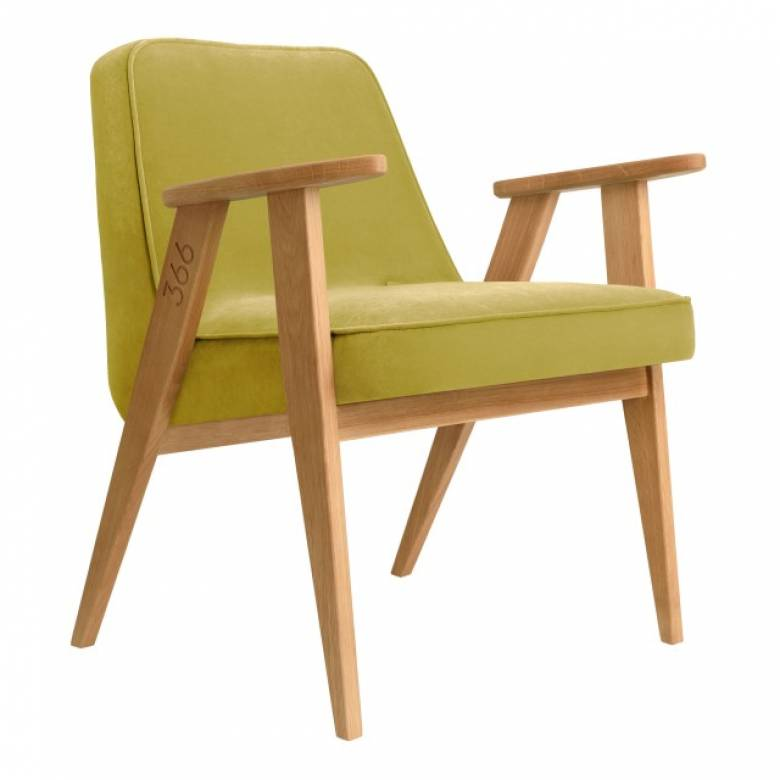 366 Armchair - Velvet Fabrics