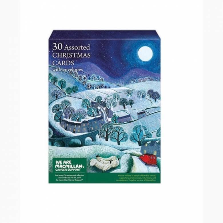 30 Christmas Card Macmillan Charity Box By M&G