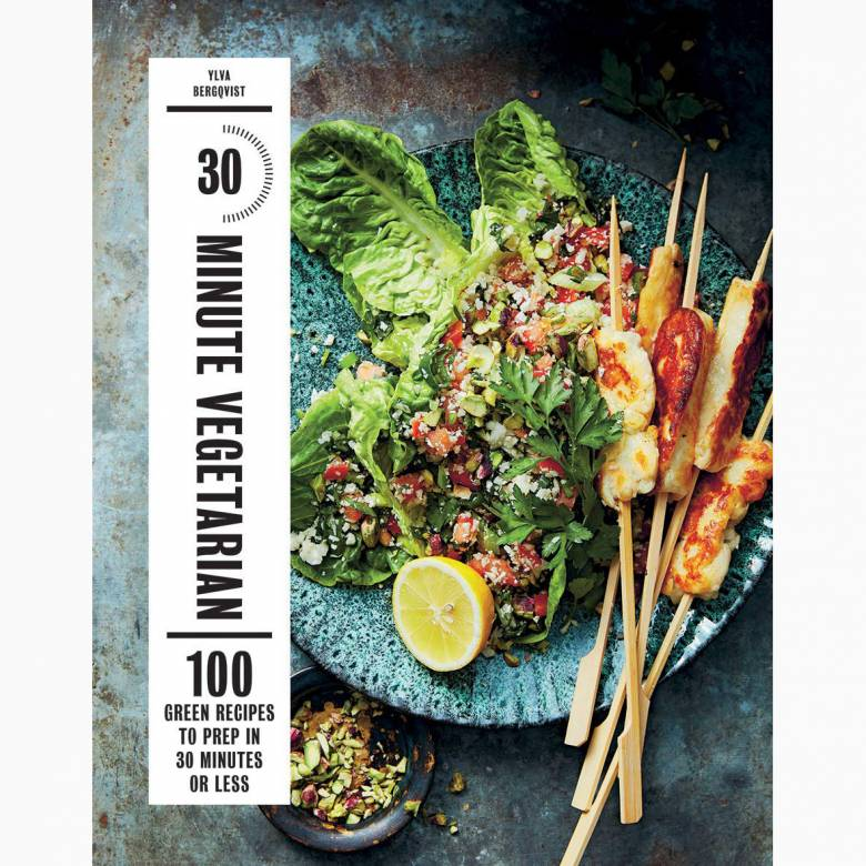 30 Minute Vegetarian - Hardback Book