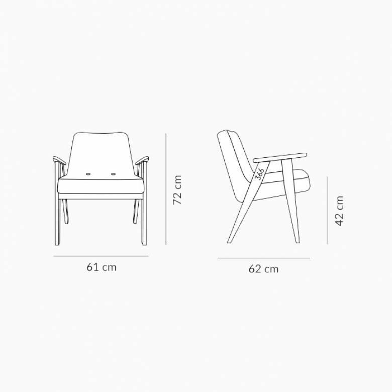 366 Armchair - Deco Fabrics