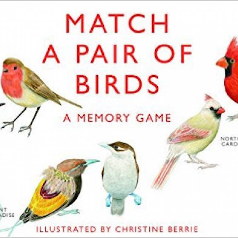 Match A Pair Of Birds Memory Game 6+