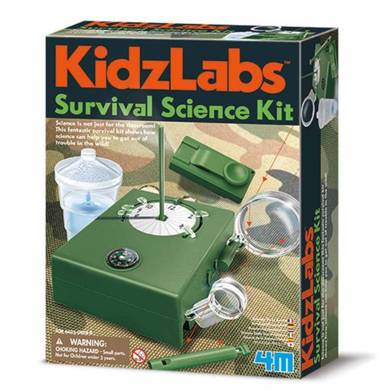 Survival Science Kit - Kidz Labs 8+