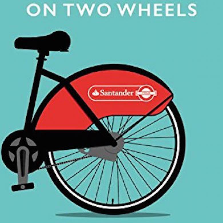 London On Two Wheels Paperback Book