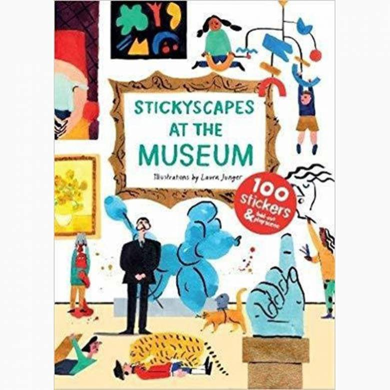 Stickyscapes: At The Museum Sticker Book